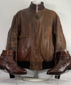 AVIREX U.S.NAVY ARMY Type G-2 Jacket & Boots