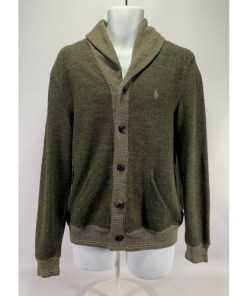 Polo Ralph Lauren Men's Cotton Shawl Cardigan Sweater