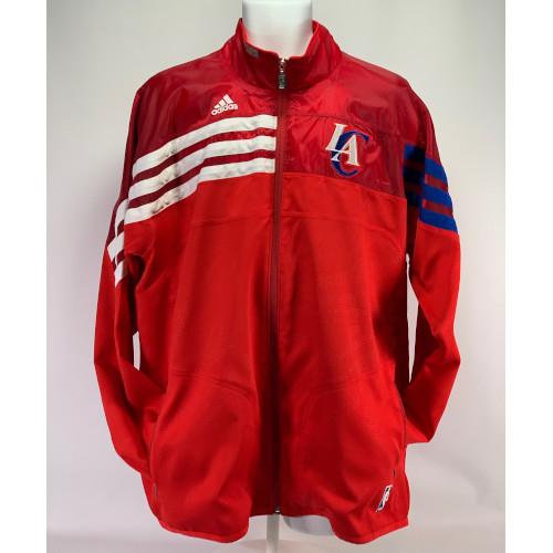 Adidas NBA LA Clippers Red Full Zip Jacket