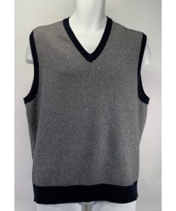 Brooks Brothers Country Club Wool V-Neck Vest Sweater