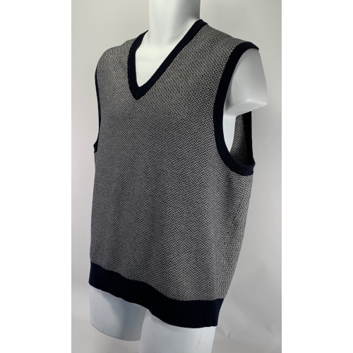 Brooks Brother Country Club Wool V-Neck Vest Sweater