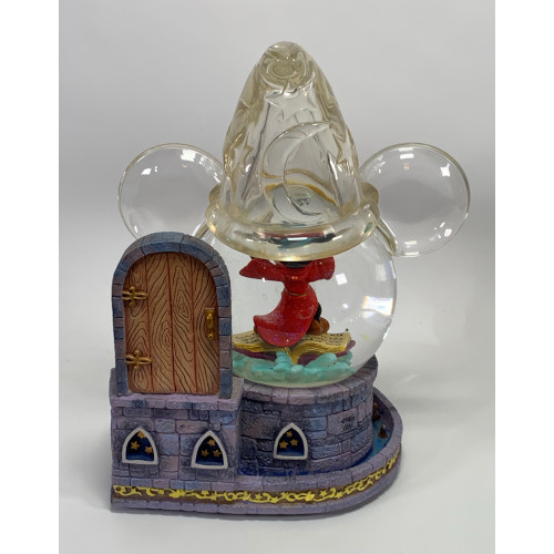 Disney Fantasia The Sorcerer Apprentice Snow Globe & Music Box Mickey Mouse
