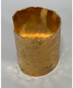 Iman Gold Cuff Bracelet