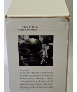 Nautica Arctic Night 4-Piece Dinnerware Set 909-145-00