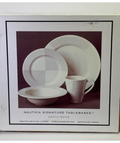 Nautica Arctic White 4-Piece Dinnerware Set 900-145-00