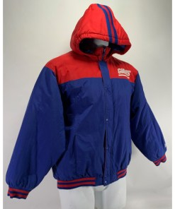 New York Giants NFL Youth Puffy Hoodie Jacket