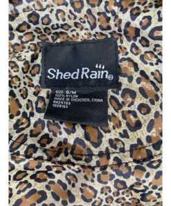 ShedRain Umbrellas Packable Anorak Jacket Animal Print