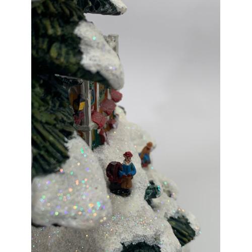Thomas Kincade Coca Cola Christmas Tree Village Bradford Edition