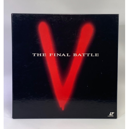V: The Final Battle (Laserdisc, 1999) 3 disc Box Set 0085391414667