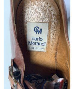 Carlo Morandi Double Monk Strap Braided Shoes