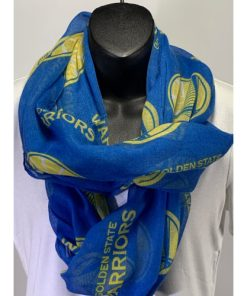 Golden State Warriors Team Logo Infinity Sheer Scarf