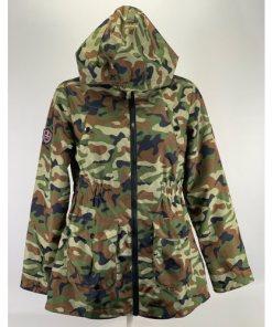 Hawke & Co Outfitter Camouflage Rain Jacket Windbreaker