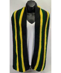 Jamaican Crochet Scarf