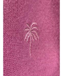 Lilly Pulitzer Soft Pink Palm Tree Women Cardigan