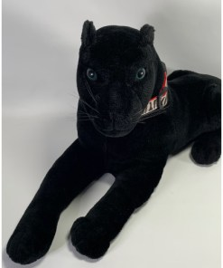 Panther Plush Stuffed Animal Black