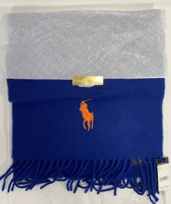 Ralph Lauren Polo Large Pony Lambswool Scarf