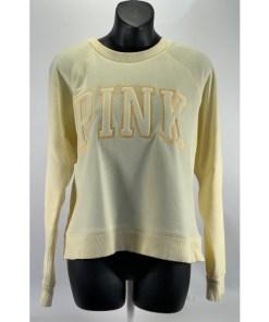 Victoria's Secret Pink Campus Crew Sweatshirt