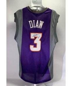 Boris Diaw #3 NBA Phoenix Suns Autograph Jersey