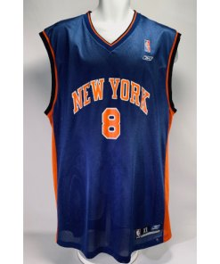Vintage Latrell Sprewell New York Knicks #8 Jersey