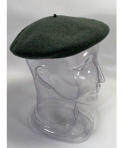 Wool Beret de luxe hoquy Green