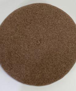 Wool Beret de luxe hoquy brown