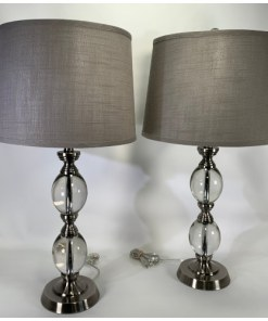 Bridgeport Designs Crystal Table Lamps