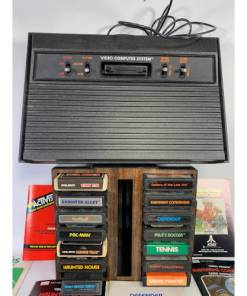 ATARI 2600 Video Game System Bundle