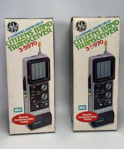GE 2-Channel Handheld Citizens Band Transceiver #3-5970