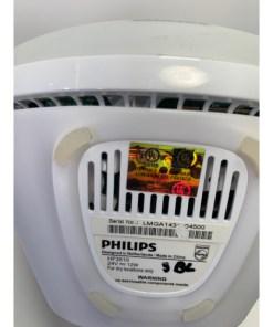 Philips Wake-Up Light Alarm Clock with Sunrise Simulation and Sunset Fading Night Light, White HF3510