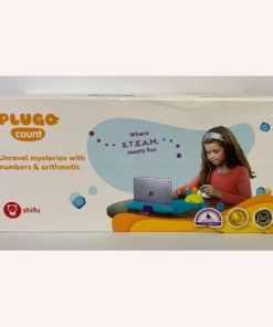 Shifu Plugo Count - Math Game with Stories & Puzzles STEM Toy Augmented Reality Based Cool Math Games for Boys & Girls 0619201270527