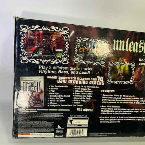 Activision Guitar Hero II Bundle Xbox 360 047875950658