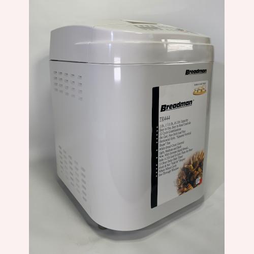 BREADMAN TR444 Deluxe Rapid Automatic Breadmaker Machine Bread Maker-1-1.5-2Lbs