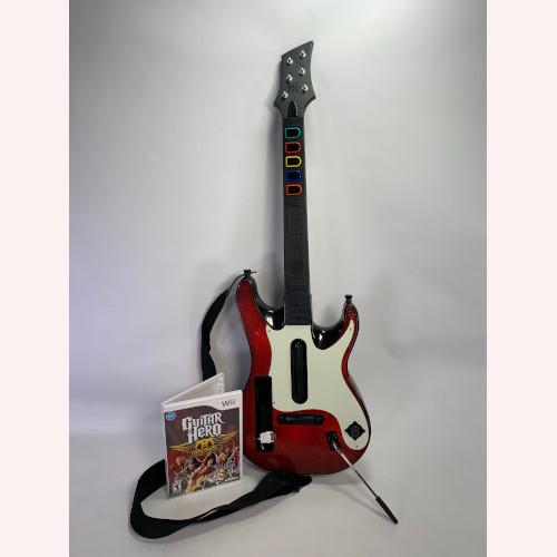 Nintendo Wii Guitar Hero 5 (GH5) Guitar & Game