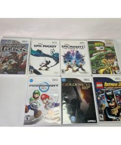 Nintendo Wii Console RVL-001 White Bundle