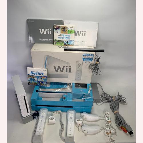 Nintendo Wii Sport Bundle -White - Fitness RVL-001