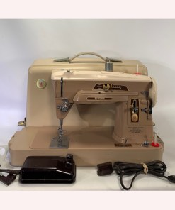 Vintage 1958 Singer Model 403A Slant-O-Matic Needle Sewing Machine