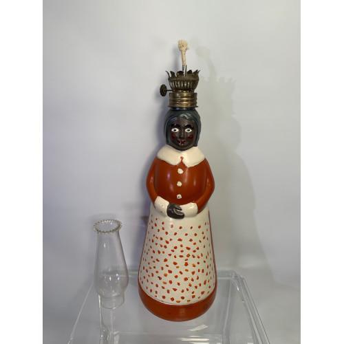 Vintage Aunt Jemima Figure Oil Lantern