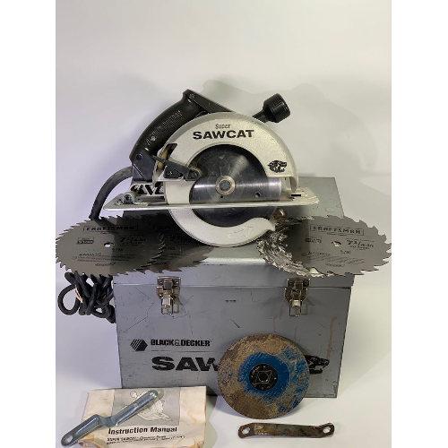 Black & Decker Industrial Strength Circular Sawcat 2694