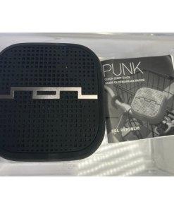 SOL REPUBLIC - PUNK Indoor Outdoor Wireless Bluetooth Speaker Black 817210019810