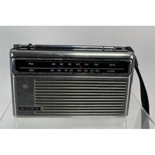 Sony TFM-6150W AM FM 2 Band Transceiver Portable Wrist Radio