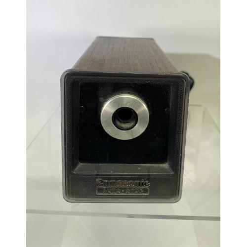 VINTAGE PANASONIC AUTO STOP ELECTRIC PENCIL SHARPENER WOOD GRAIN # KP-77