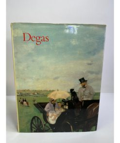 Degas by Jean Sutherland Boggs 1988 HB DJ First EditionHardcover 0870995197