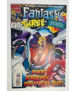 FANTASTIC FOUR COMIC #384 Marvel fantastic three My Enemy, My Son 759606024629