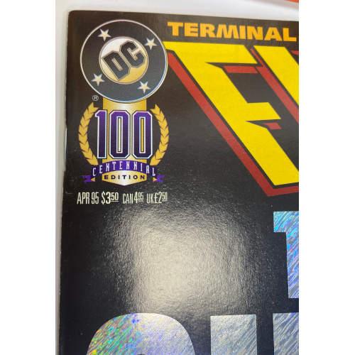 Flash Terminal Velocity (1995 DC) Collectors Set Comic Books