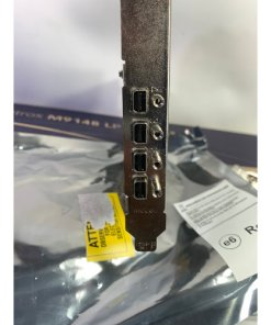 Matrox M9148 LP PCIe x16 quad graphics card