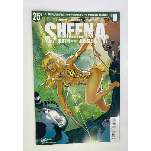 SHEENA #0 Queen Of The Jungle Comic Book SHEENA #0 CVR A LUPACCHINO Comic Book, 72513026073