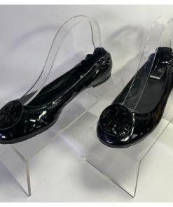 Tory Burch 2011 Reva Travel Ballet Flats Patent Leather