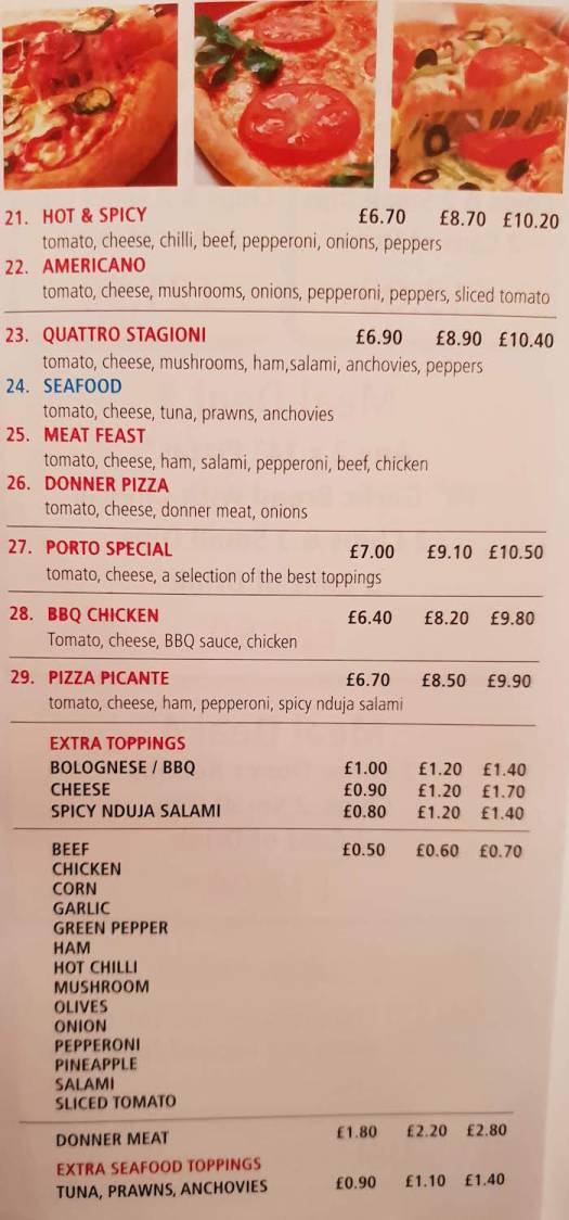 pizza whitby