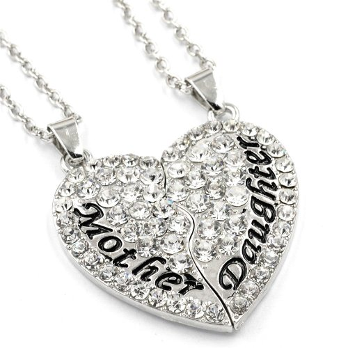 Mother daughter pendant necklace find your future mother daughter pendant necklace aloadofball Gallery