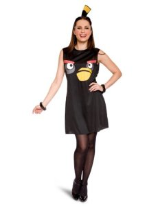black bird costume: $17